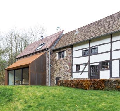 R novation grange transformer une grange en habitation - Renovation grange en habitation ...